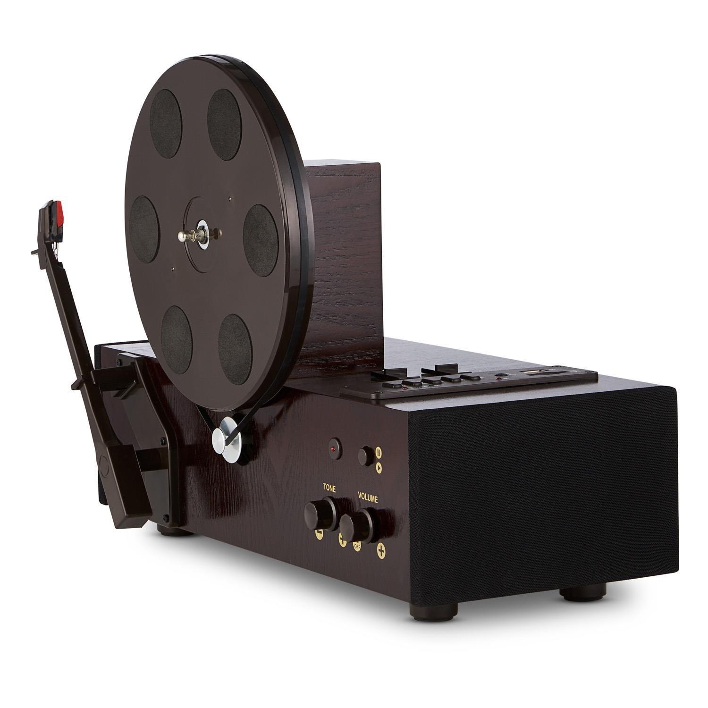 auna Vertical Tocadiscos Retro Vertical (Altavoz Integrado ...