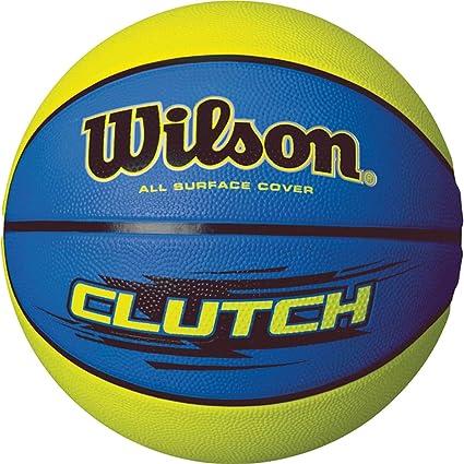 Wilson Clutch Balón, Unisex, Azul/Lima, 7: Amazon.es: Deportes y ...