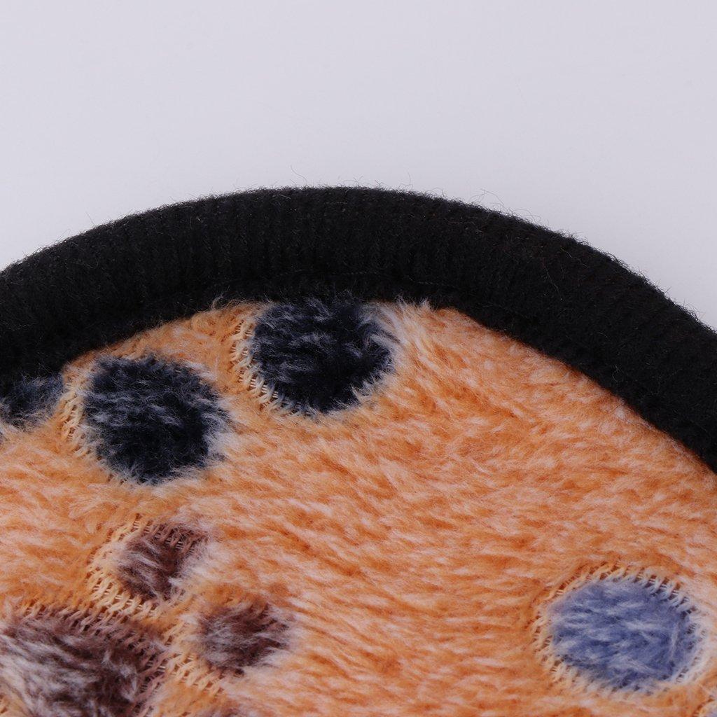 zrshygs Pet Blankets para Perros Mascotas Perros Gatos Manta C/álido Estera Transpirable Coral Suave Patas de Cachemira Cama para Dormir WS