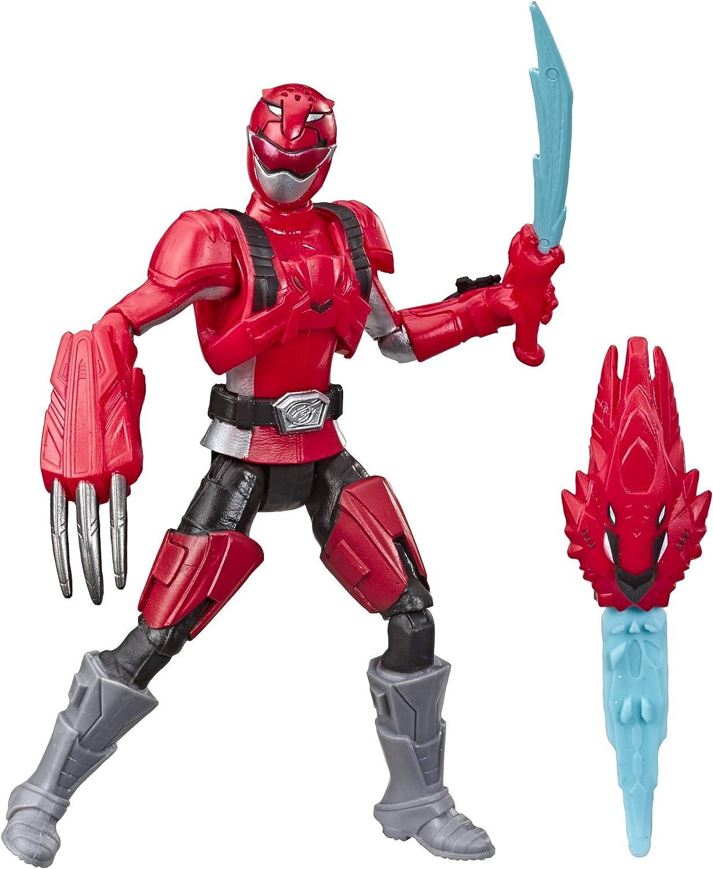 Amazon Com Hasbro Power Rangers Beast Morphers Red Ranger Modo