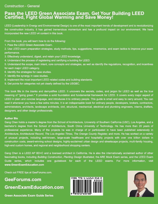 Buy Leed V4 Green Associate Exam Guide Leed Ga Comprehensive