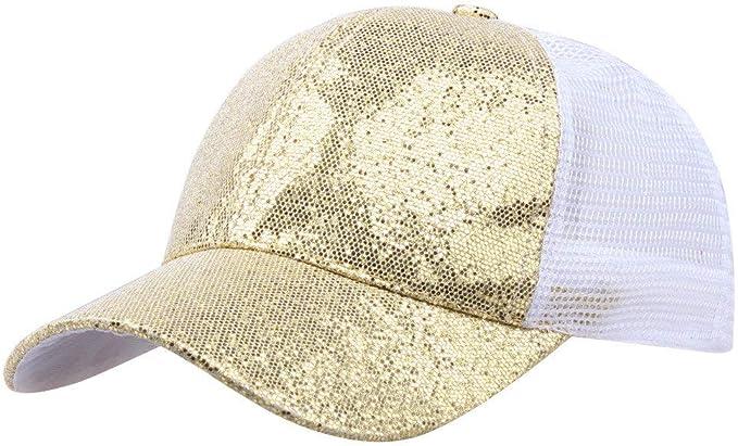 Gorra de Beisbol para Mujer niña Cola de Caballo Gorra de béisbol ...