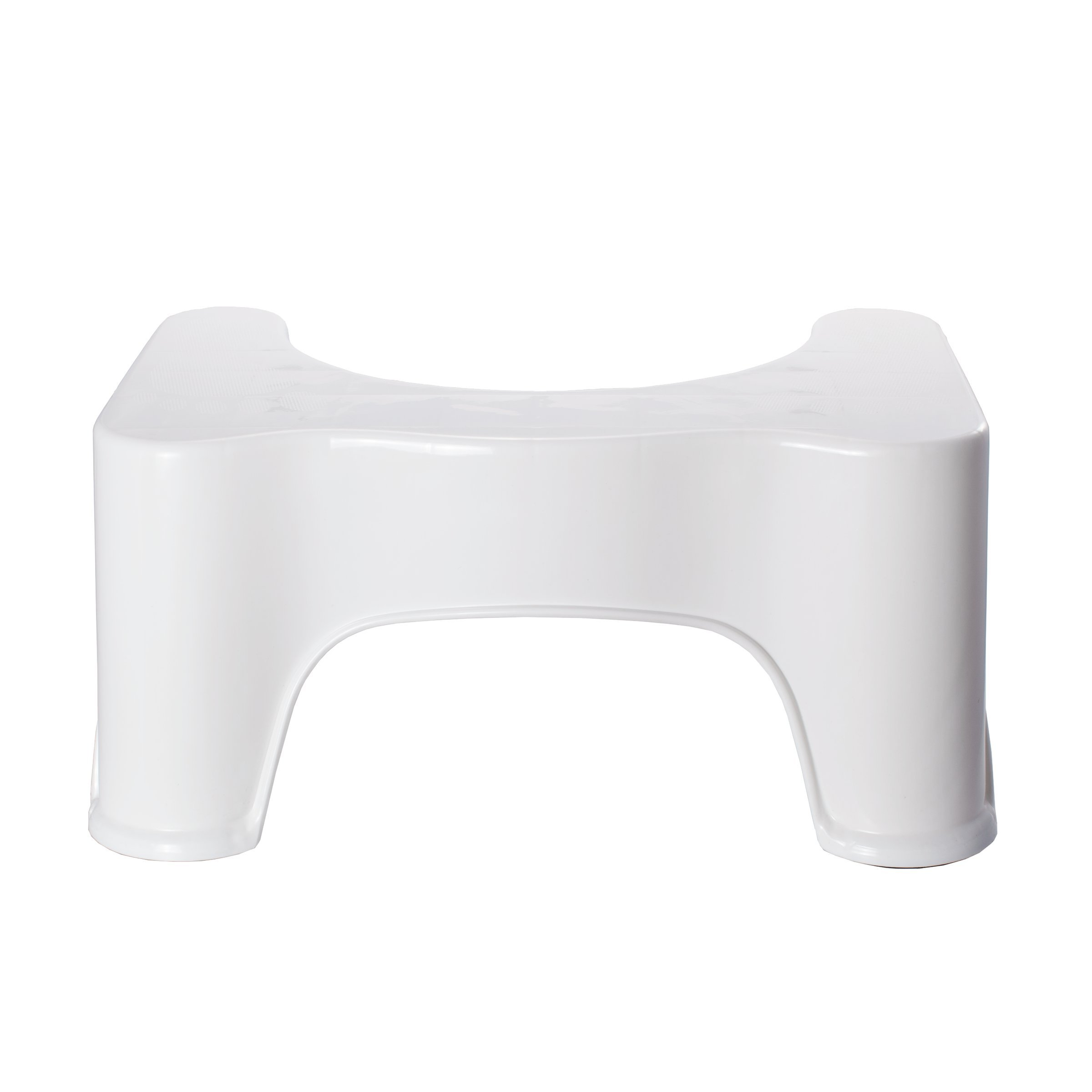 9'' Inch Most Ergonomic Bathroom Space Saver Toilet Stool Natural Aid For Squatty Posture Better Bowel Movements For All Ages