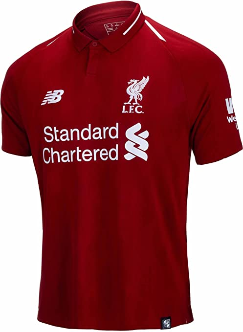 Buy L.F.C Liverpool Football Jersey Home 2018-19 (Medium) Online at ... 5d68380e5