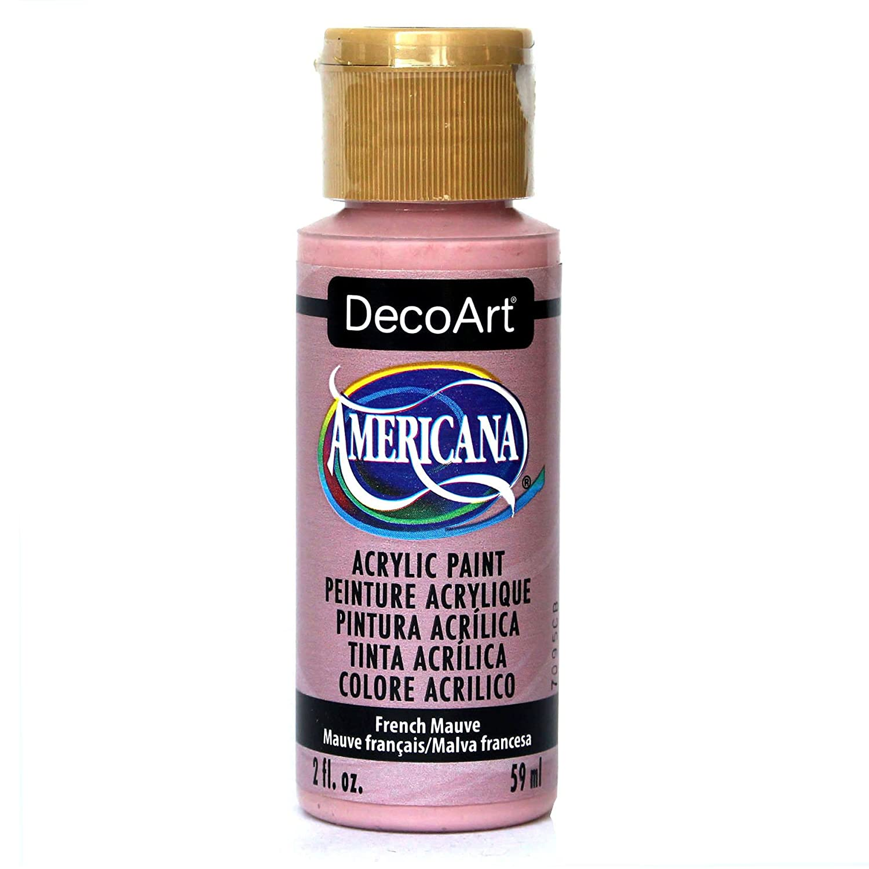 DecoArt Americana Acrylic Paint, 2 oz, French Mauve DA186-3