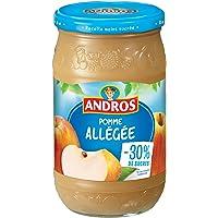 ANDROS Compote Pomme Allégée 730 g - Lot de 3