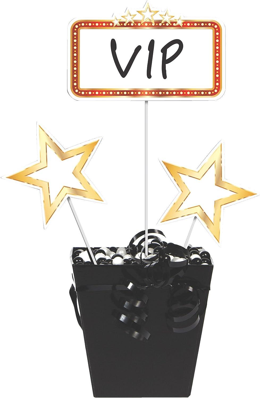 Creative Party Hollywood Lights Mini Cascade Party Centrepiece