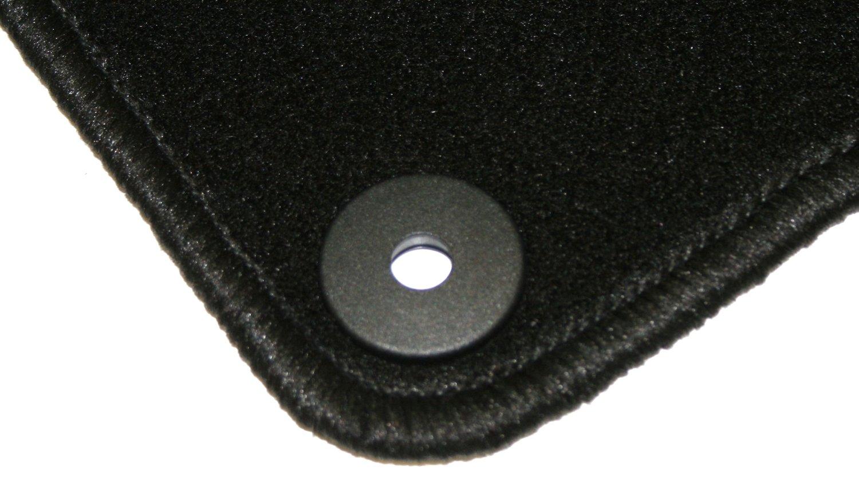 Schwarz AD Tuning GmbH HG12254V Velours Passform Fu/ßmatten Set