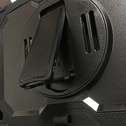 Amazon Co Jp Timecity Ipad Pro 11 インチ ケース 18 保護シール内蔵 360度回転の折り畳スタンド 肩紐 ハンドストラップ付き ペン収納 無線充電機能支持 頑丈 丈夫 ゴツイ 耐衝撃 操作簡単 多機能 Ipad Pro 11 インチ 第1世代 第2世代 タブレットpcケース
