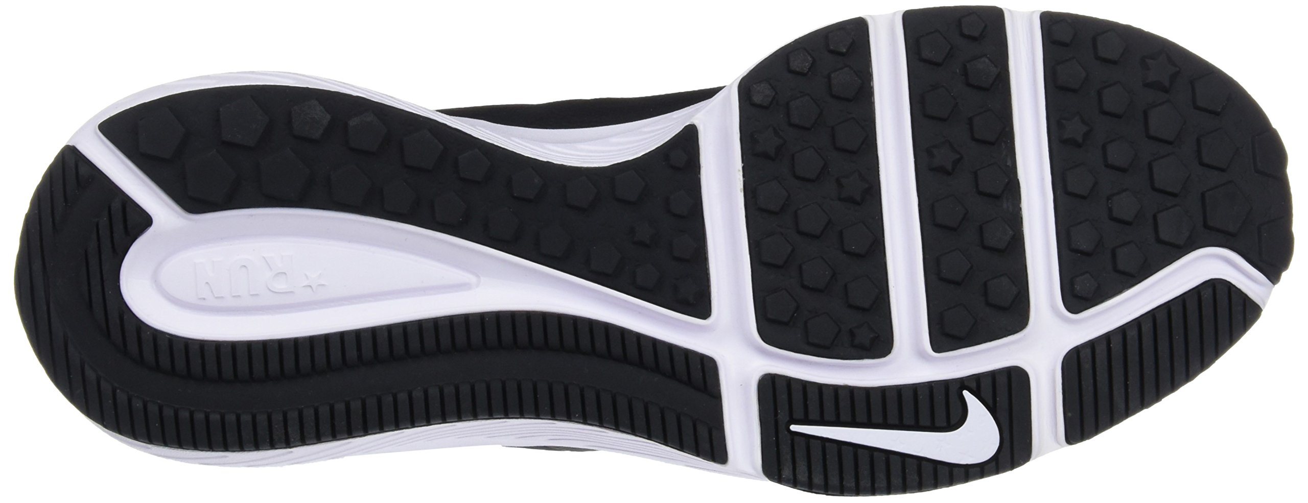 Nike Kids' Grade School Star Runner Running Shoes (3.5, Black/White) by Nike (Image #3)