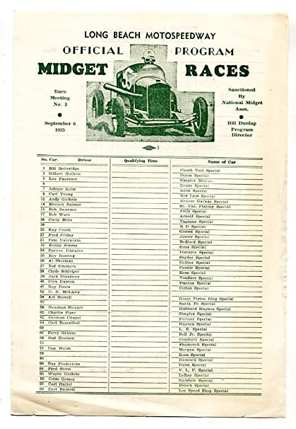 Many california midget racing consider, that