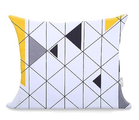 2 Fundas De Almohada 50x60 cm Modern algodón satén Mako ...