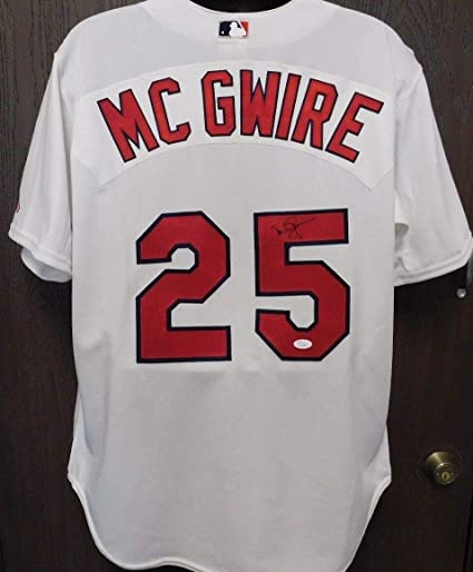 new arrival adb9d 4adc1 Mark Mcgwire Autographed Signed Autograph St Louis Cardinals ...