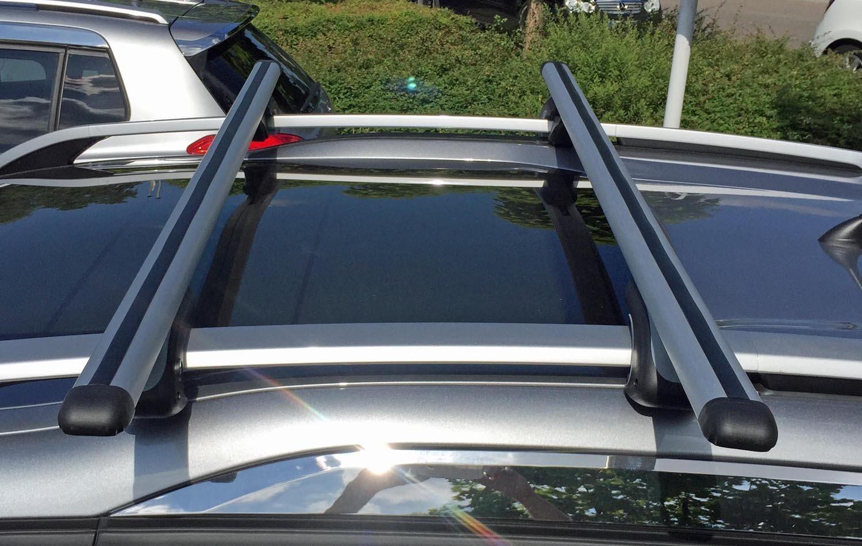 VDP Aluminium Roof Rack Rails Confirm XL135 up to 75 kg Lockable VDPSC 005-135/_TOURAN-R