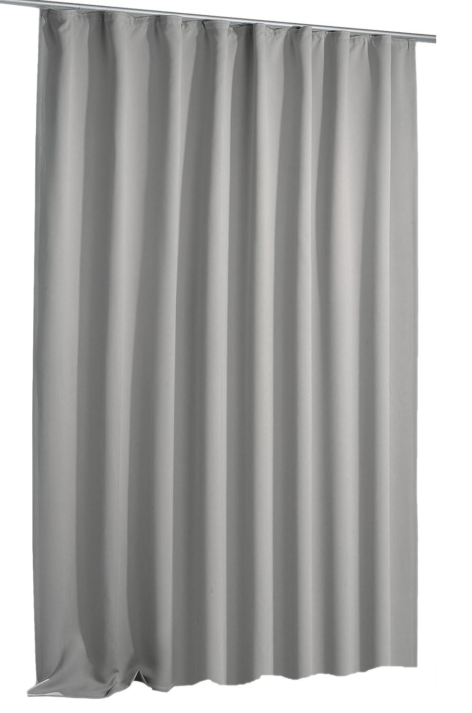 Verdunkelungsvorhang Blackout Vorhang extra breit Kräuselband