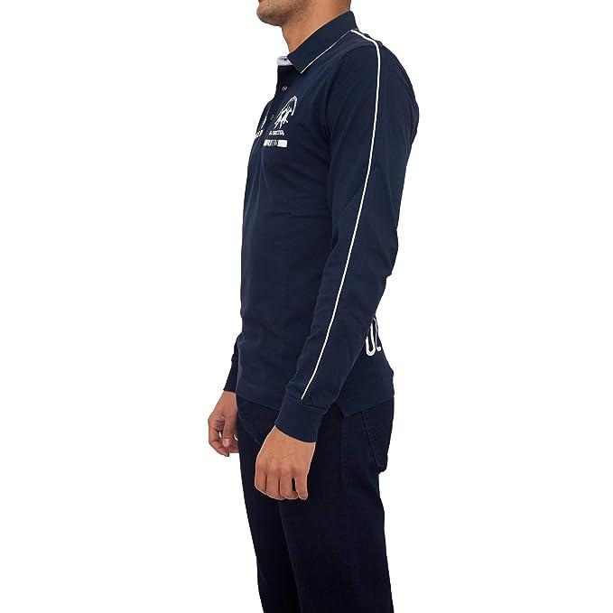 La Martina - Polo - Chaqueta - para Hombre Azul M: Amazon.es: Ropa y accesorios
