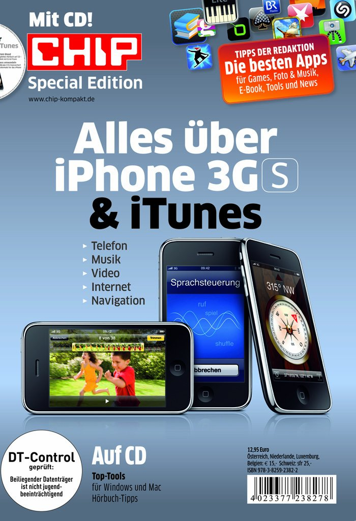 Chip - Alles über iPhone 3GS & iTunes