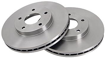 ABS 17438 Discos de Frenos, la Caja Contiene 2 Discos de Freno