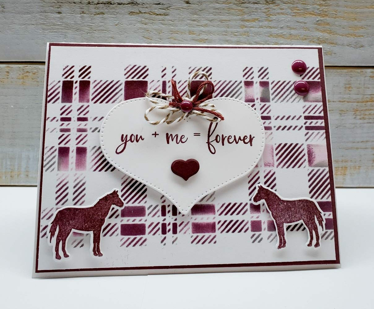 Stamp Simply Clear Stamps Scripture Sentiments Farmhouse Words of Encouragement Christian Religious (4-Pack) 4x6 Inch Sheets - 35 Pieces by Stamp Simply (Image #9)