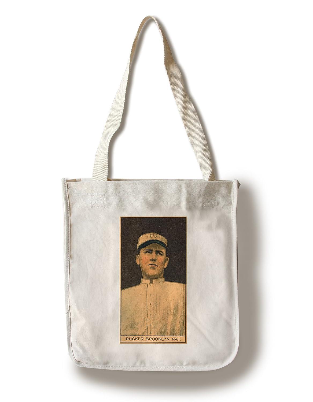 Brooklyn Dodgers – Napoleon Rucker – 野球カード Canvas Tote Bag LANT-21860-TT B01841K4BQ  Canvas Tote Bag