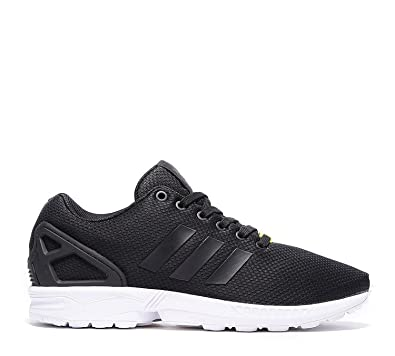 hot sale online 5250a 947bc Adidas Womens - ZX Flux W - Black White - UK 3.5