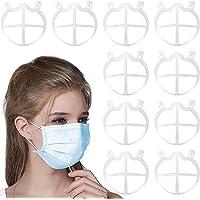 CNSSKJ Soporte de silicona para mas-ca-ri-lla, soporte interior para marco de cara 3D, respiración de la nariz sin…