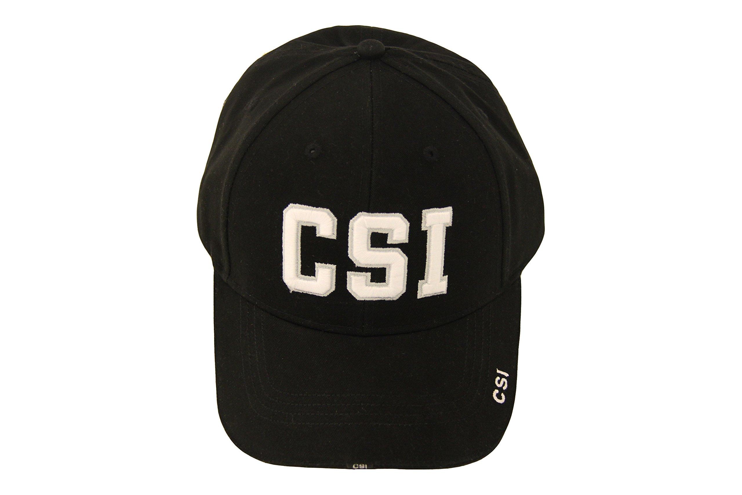 CSI Crime Scene Investigation Logo Adult Strapback Hat by CSI (Image #1)