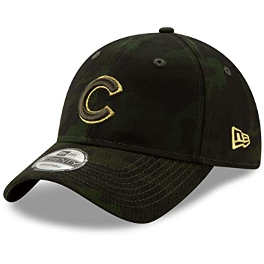 new product e7402 18aff Image Unavailable. Image not available for. Color  New Era Chicago Cubs  2019 MLB Armed Forces Day 9TWENTY Adjustable Hat - Camo