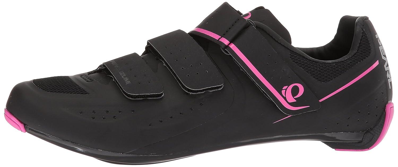 Pearl iZUMi Women's W Select Road v5 Studio Cycling Shoe B072Q12W7C 38.0 M EU (6.8 US)|Black/Black