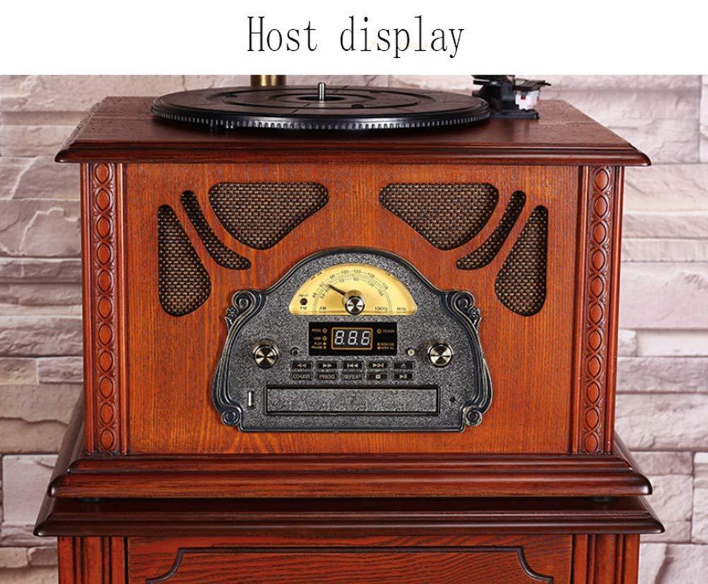 Daxiong Gramófono Antiguo Big Horn Reproductor de Discos de ...