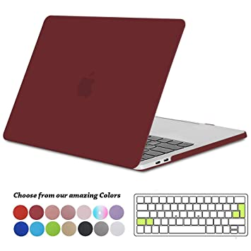 Tecool Funda MacBook Pro 13 2016/2017/2018, Plástico Dura Case Carcasa con Tapa del Teclado para MacBook Pro 13.3 Pulgadas con/sin Touch Bar & Touch ...