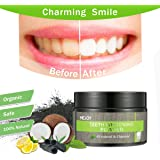 Charcoal Teeth Whitening Powder, LuckyFine Natural Activated Charcoal Tooth Powder, Coconut Charcoal Teeth powder, Bamboo Whiter Teeth
