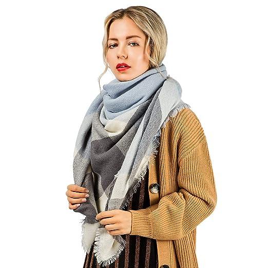 f637a7a2fa3 Women Scarves yeabiu Cashmere Scarf Large Winter Fringe Scarf Warm Wool  Shawl Wrap Stole for Women