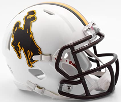 Amazon.com: Wyoming Cowboys NCAA Riddell revolución ...
