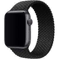 حزام ساعة Boutique Braided Solo Loop متوافق مع سلسلة ساعة Apple Watch 6/SE/5/4/3/2/1 مع أشرطة 44 مم 42 مم أشرطة من…