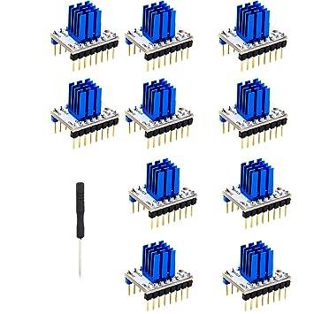 IPOTCH 10x Ultra silenciosas TMC2208 V1.0 Controlador de Motor de ...