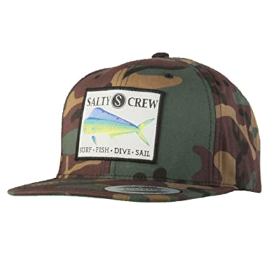 big sale c582f 38a70 inexpensive salty crew big mouth trucker hat 52ccc 628bd  shop salty crew  mens mahi patched hat camo one size 7f324 12aa9
