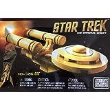 SDCC 2016 Mattel Exclusive Star Trek 50th Anniversary Mega Bloks Gold USS Enterprise