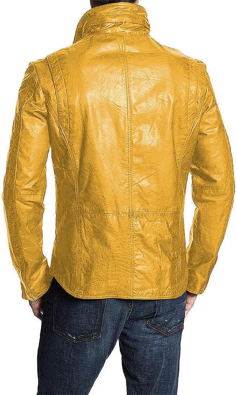 Black, Classic Jacket 1501304 Laverapelle Mens Genuine Lambskin Leather Jacket