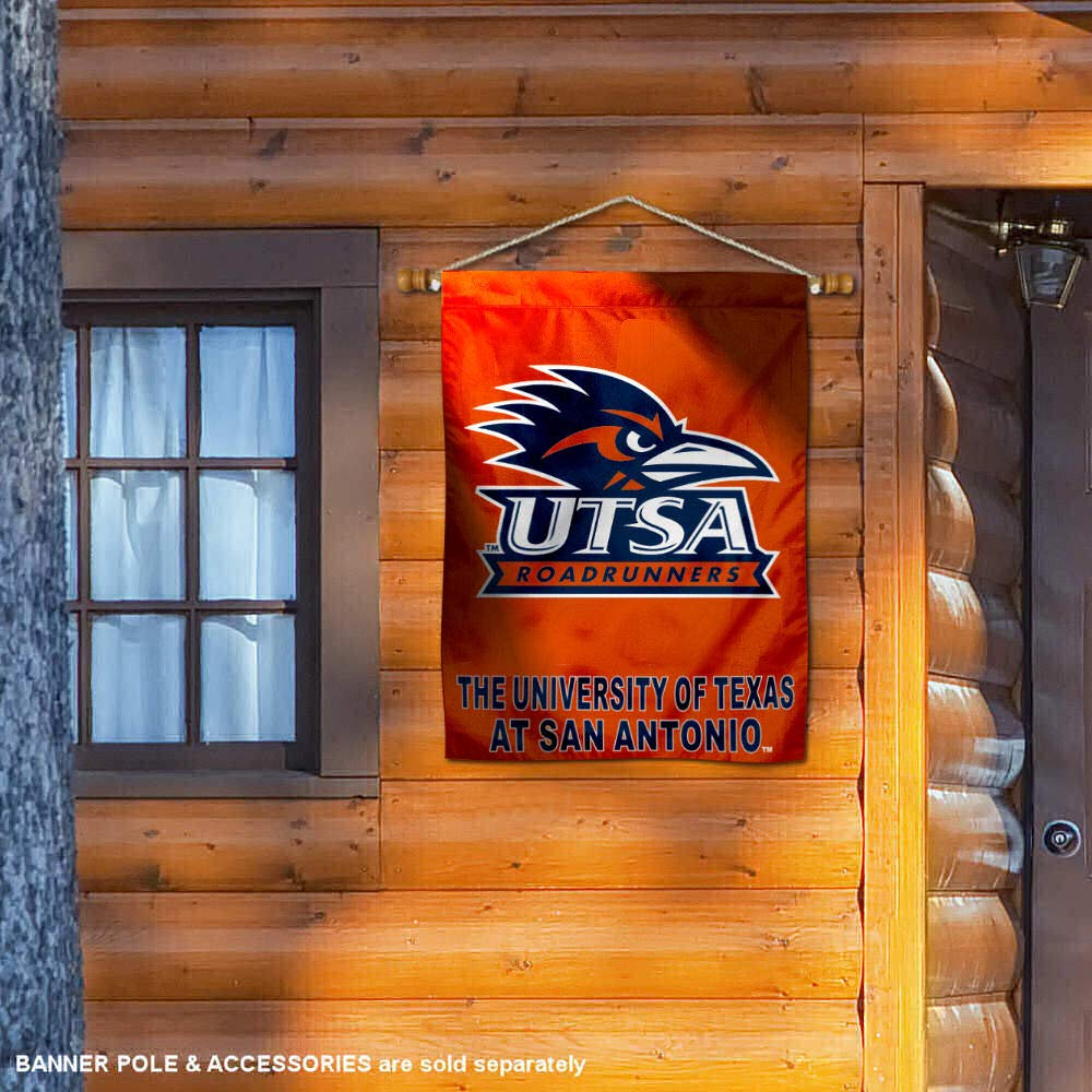 UTSA Roadrunners Texas San Antonio House Flag College Flags and Banners Co