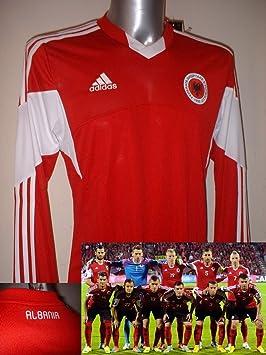 Adidas Albania Adulto Grande Camiseta de fútbol Camiseta de Maglia Top