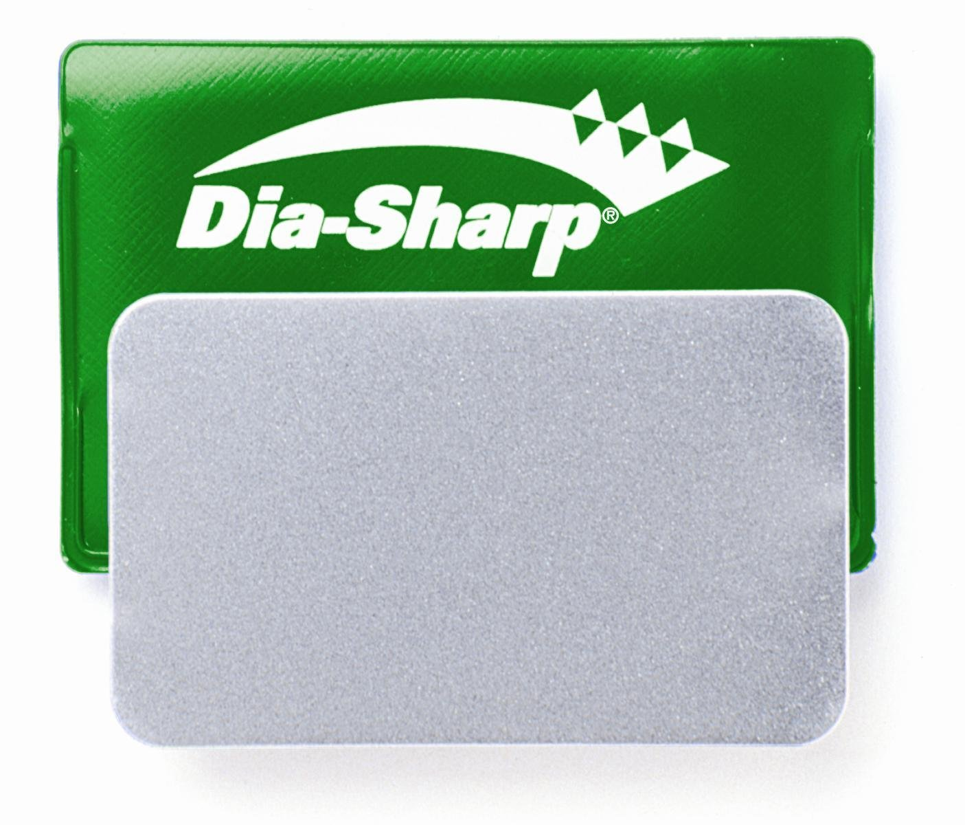 DMT D3E 3-Inch Dia-Sharp Sharpener Credit Card Sized Extra-Fine
