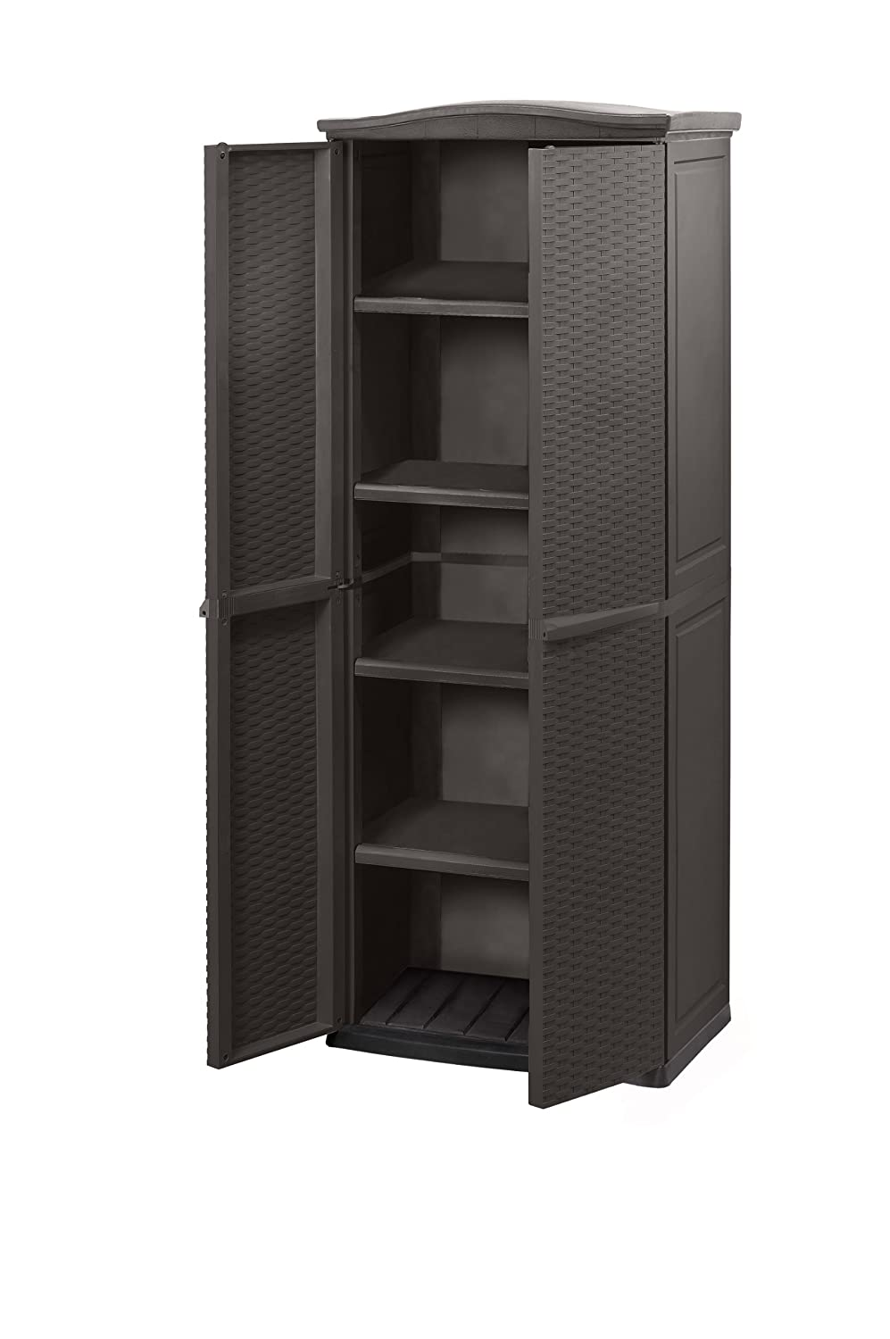 Keter 17190092 Universalschrank Rattan Style Utility Shed ...