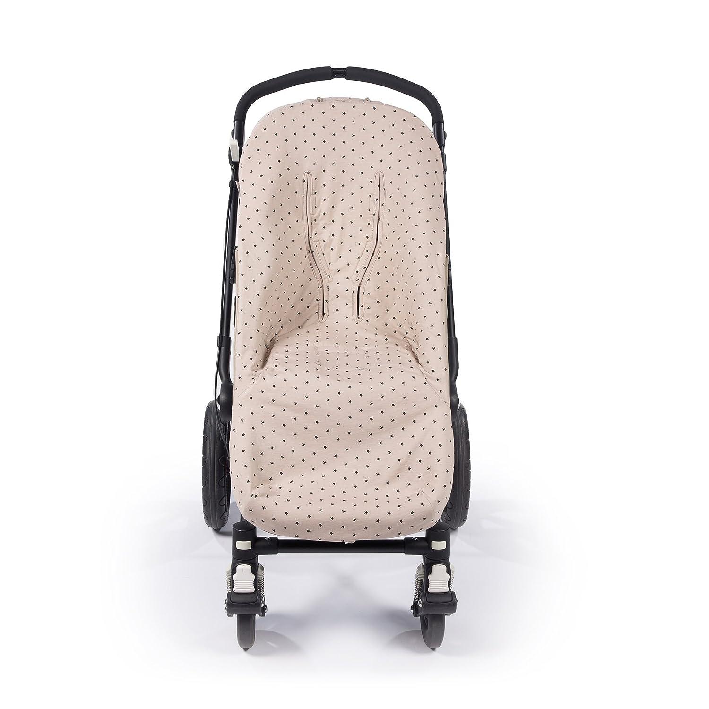 Walking Mum Gaby color piedra Funda universal para silla con sacos de abrigo