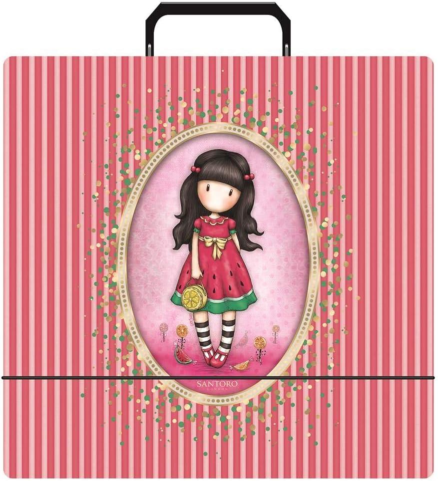 Santora Gorjuss Girls Craft Collection Filing Craft Storage Portfolio
