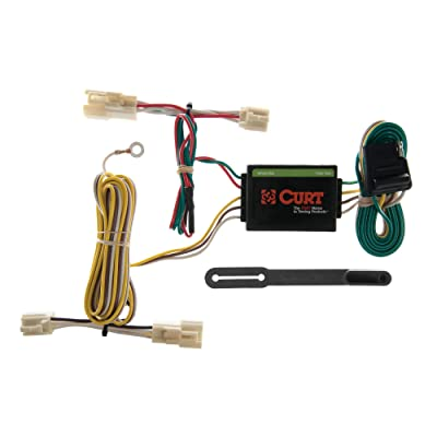 CURT 55358 Vehicle-Side Custom 4-Pin Trailer Wiring Harness for Select Toyota Camry: Automotive
