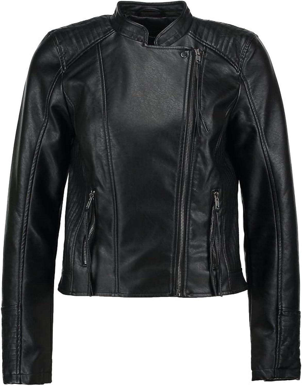 Koza Leathers Womens Lambskin Leather Biker Jacket KN286