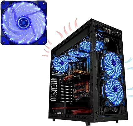 Ventilador de enfriamiento de 120 mm, ventilador de computadora ...