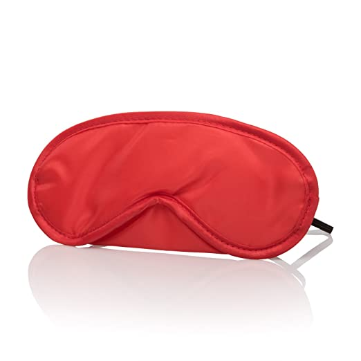 Amazon.com: CalExotics Pleasure Masks - Blindfold Set for Couples - Ideal for Sex Travel and Sleeping - Red and Black: Health & Personal Care