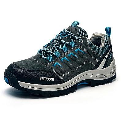 ZanYeing Herren Winter Wanderschuhe Trekking Rutschfest Outdoor Schuhe Bequem Sneakers Atmungsaktiv 7v44RA